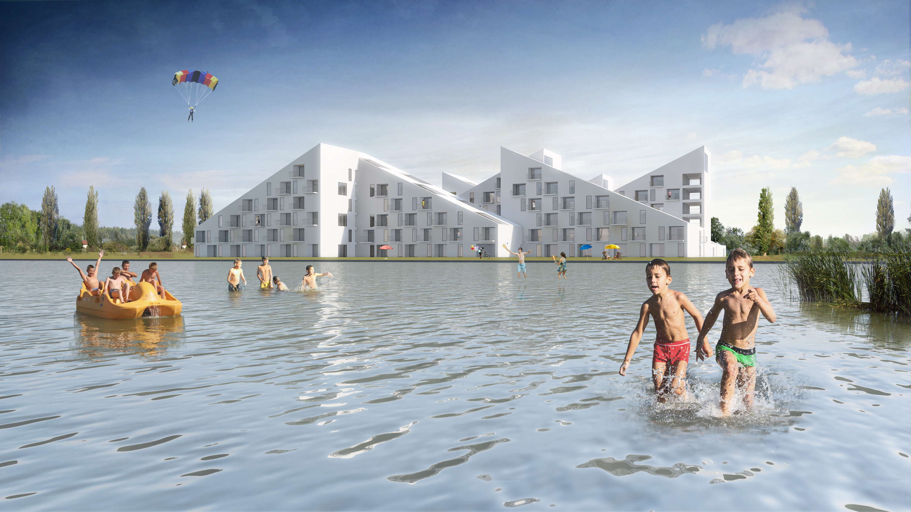 3h architecture summer houses balatonlelle