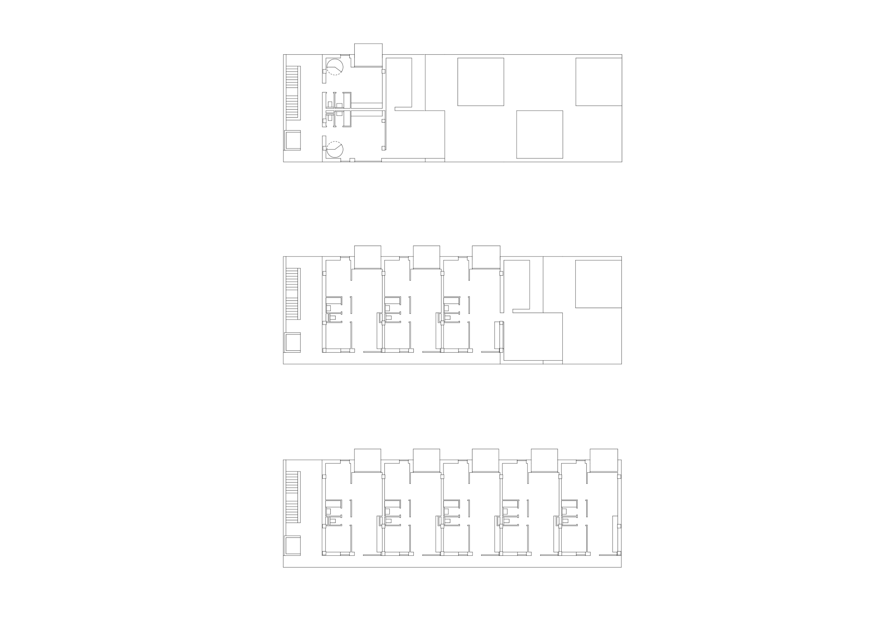 3h architecture summer houses balatonlelle plan
