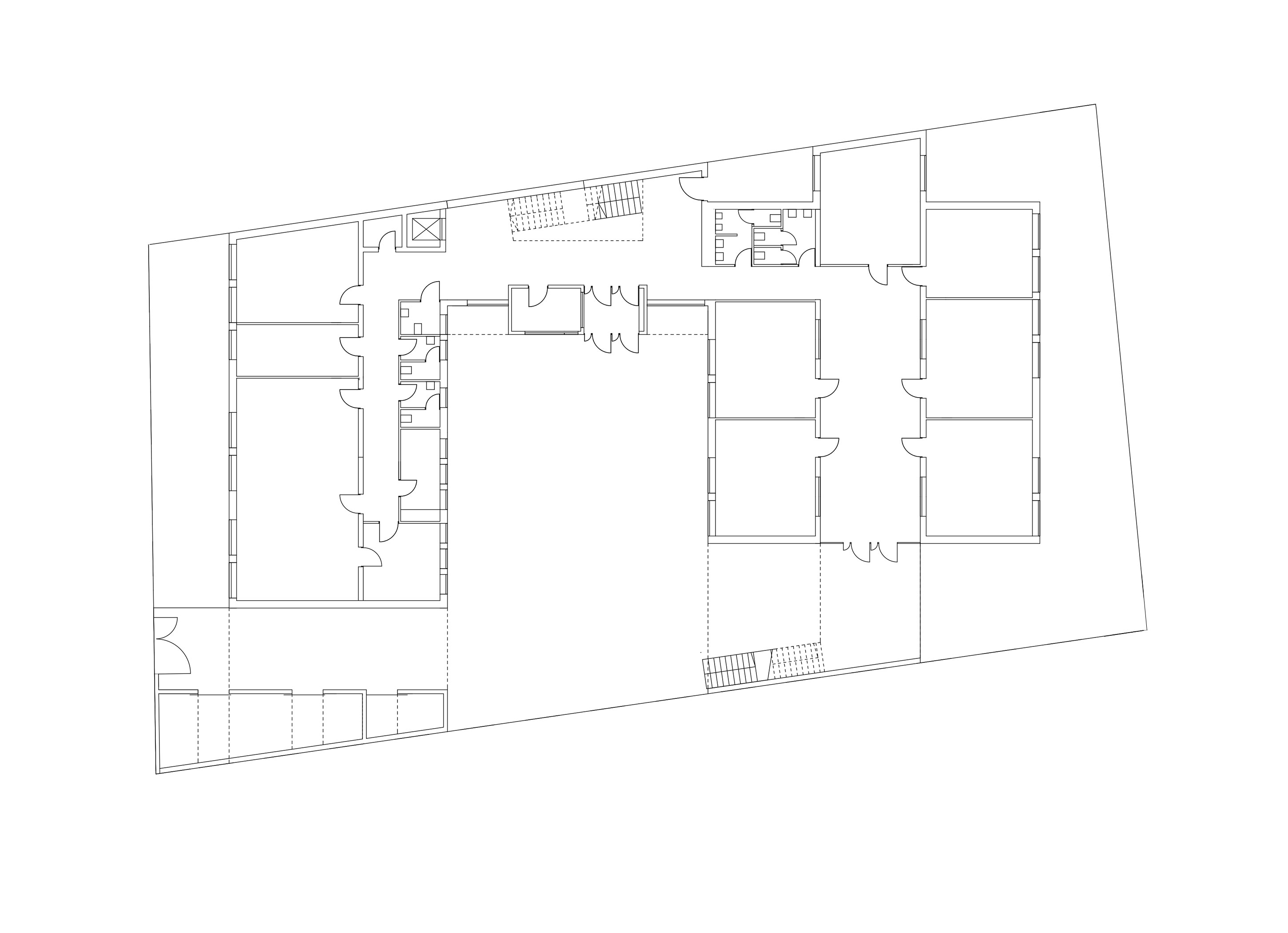 3h architecture special school csorna plan