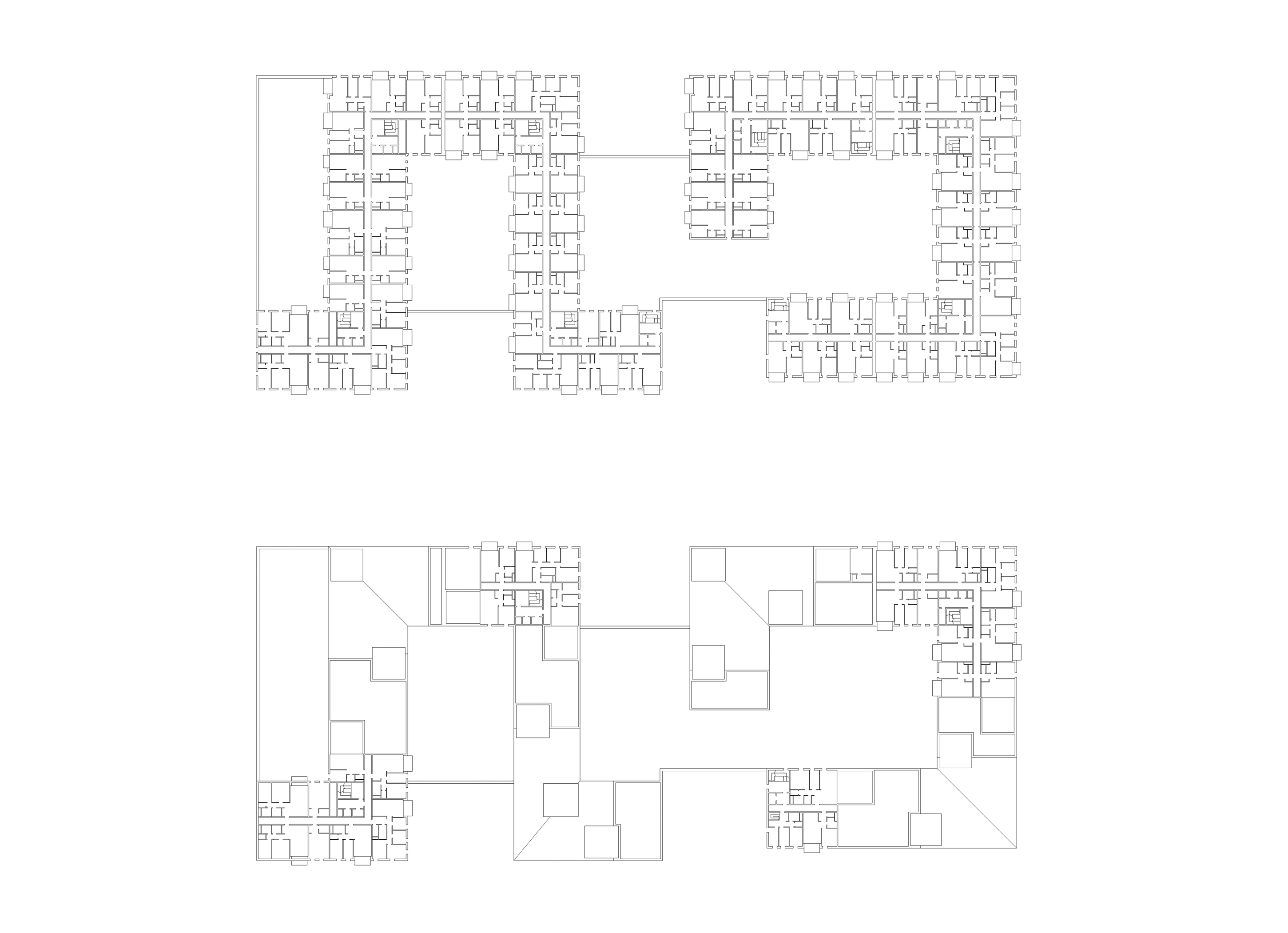3h architecture apartment house budapest plan