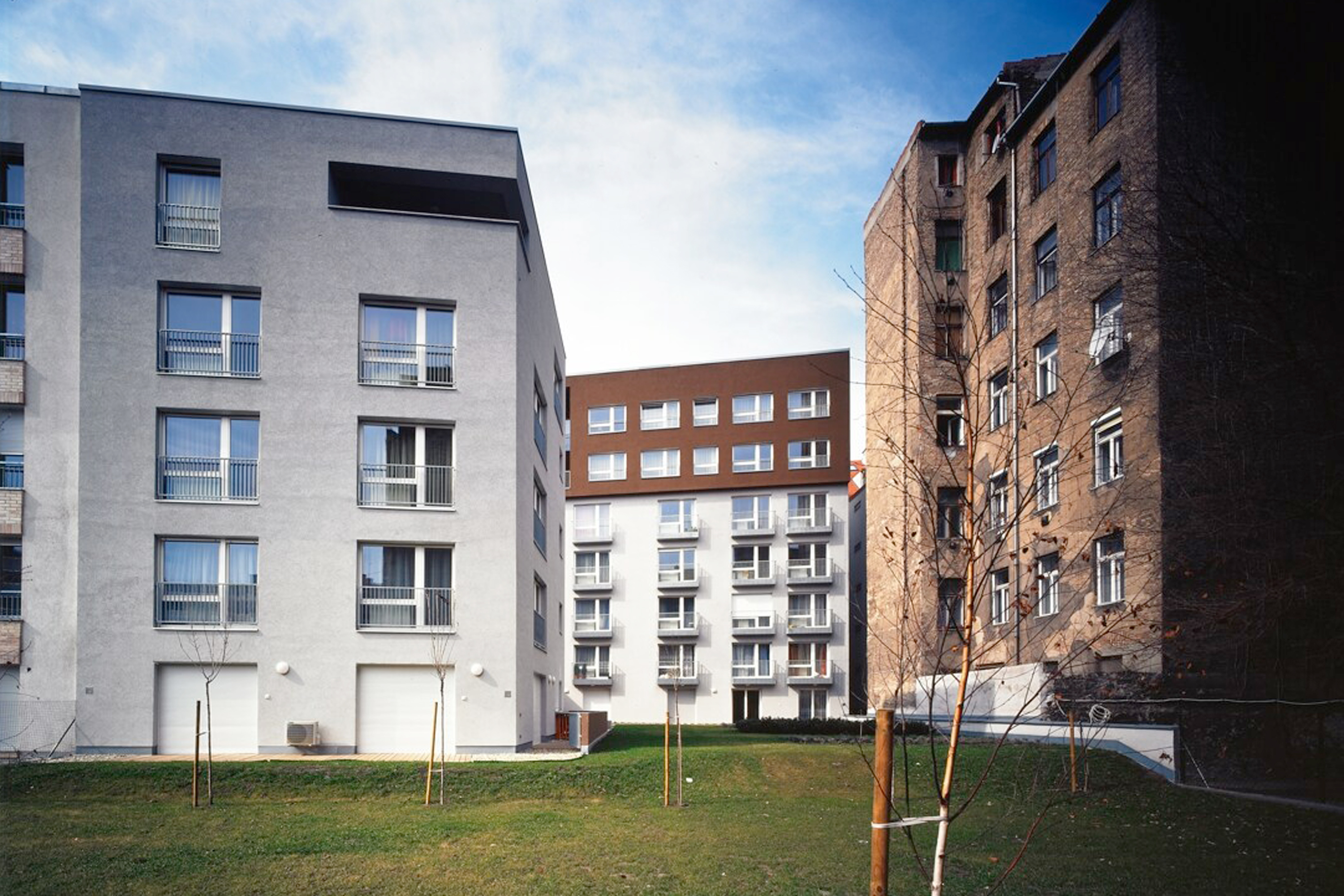 3h architecture apartment building budapest