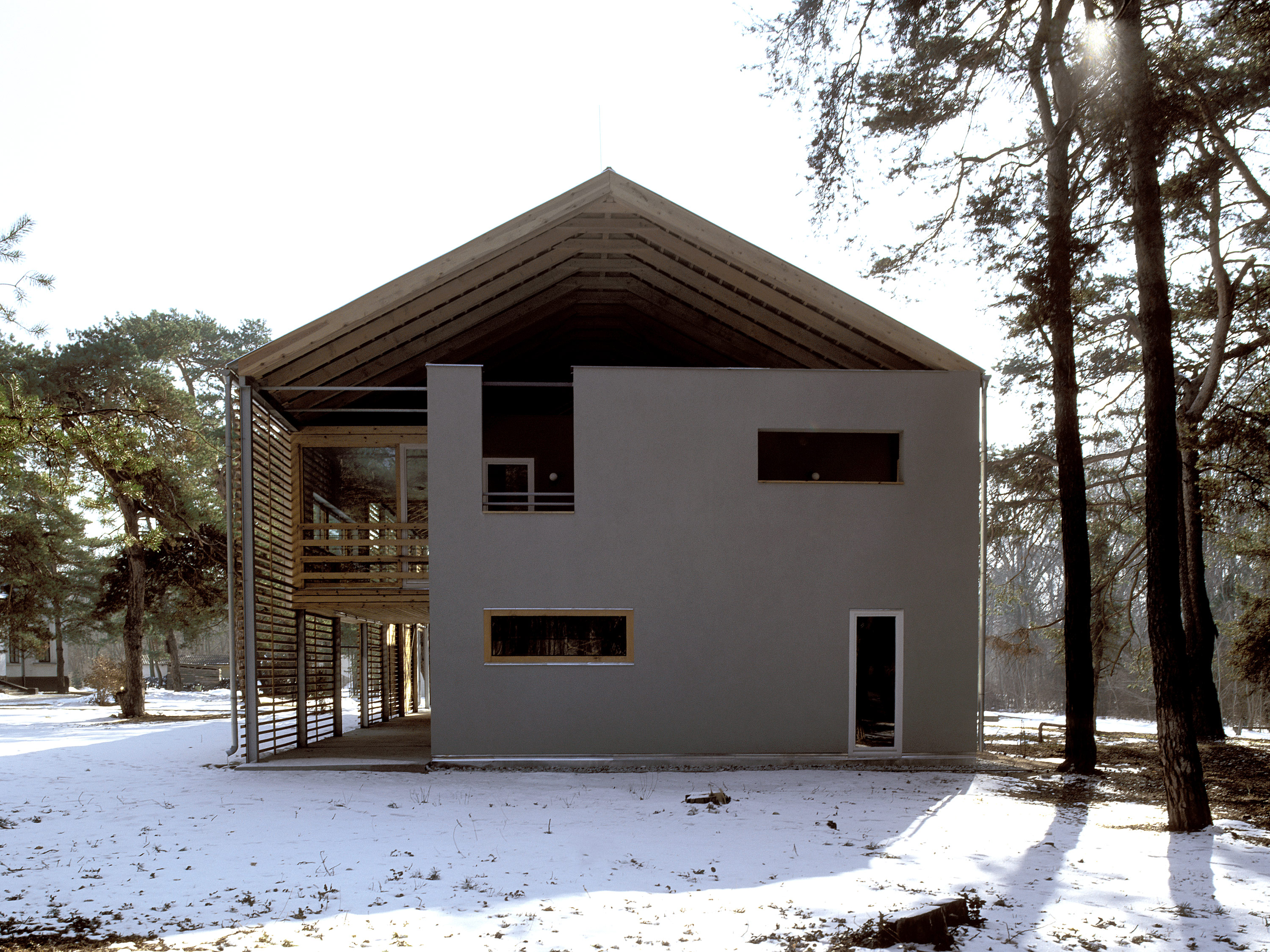 3h architecture accommodation koronco