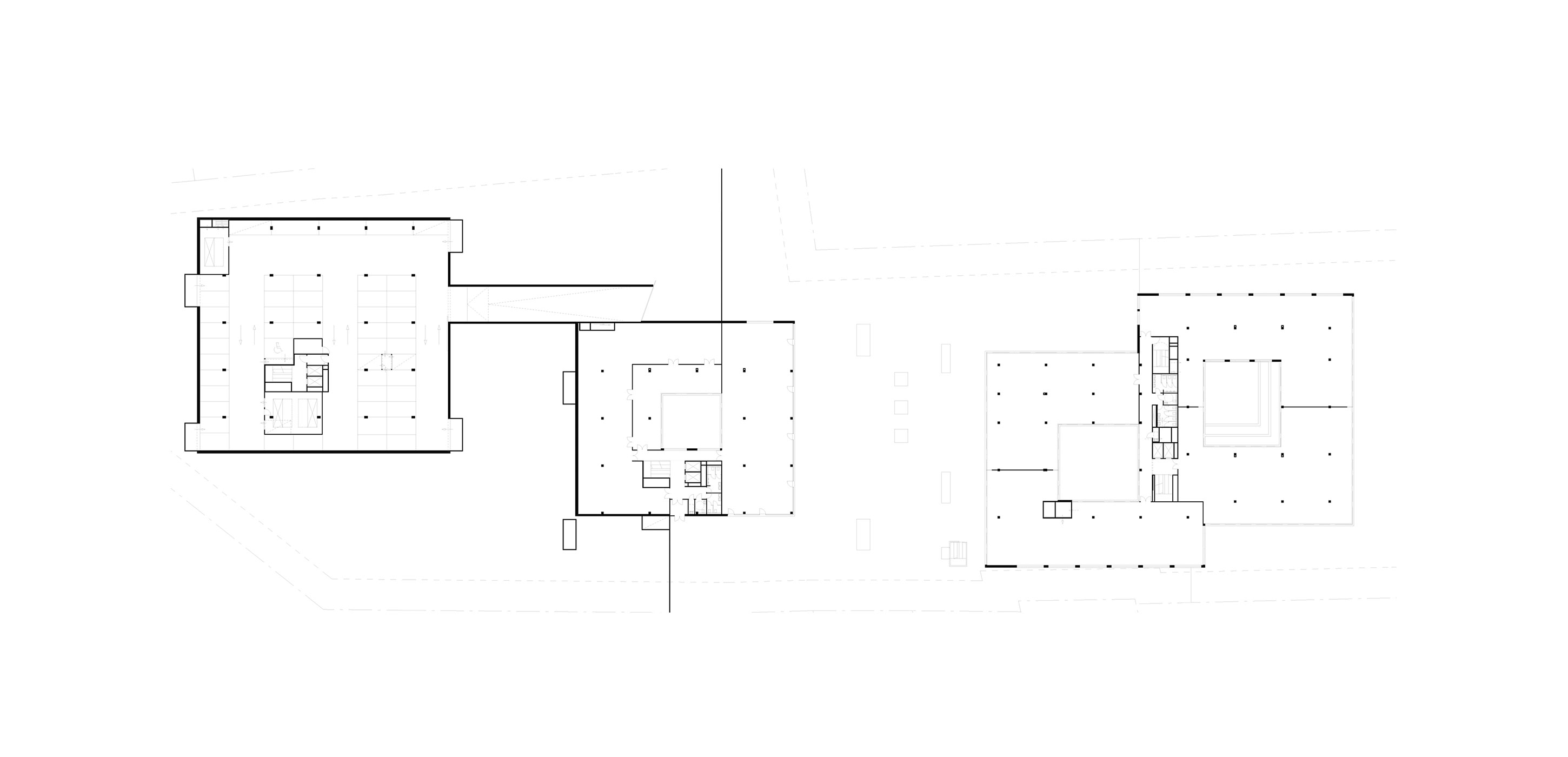3h architecture n41 office park budapest plan