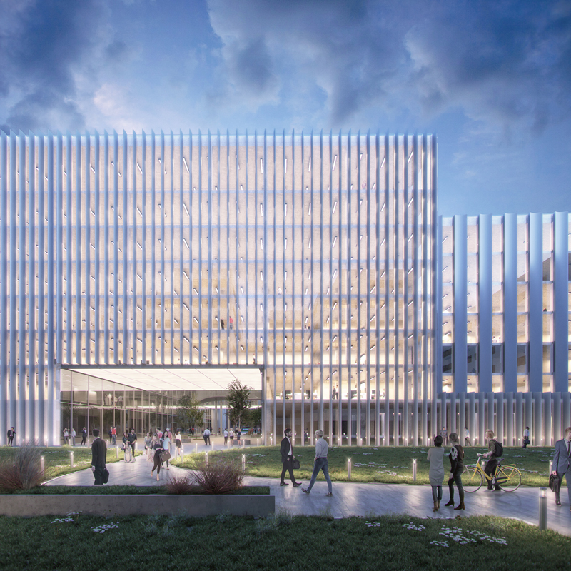 3h architecture otp office building budapest