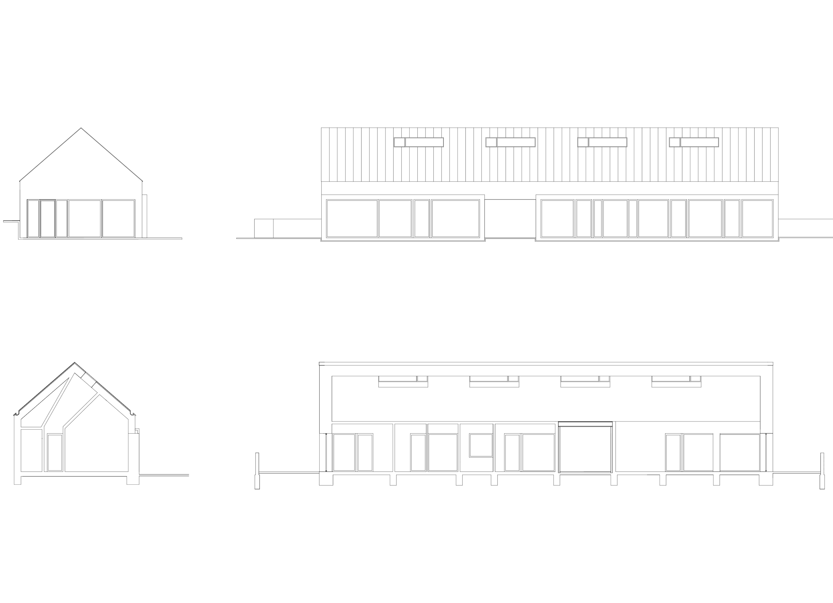 3h architecture family house paloznak section facade