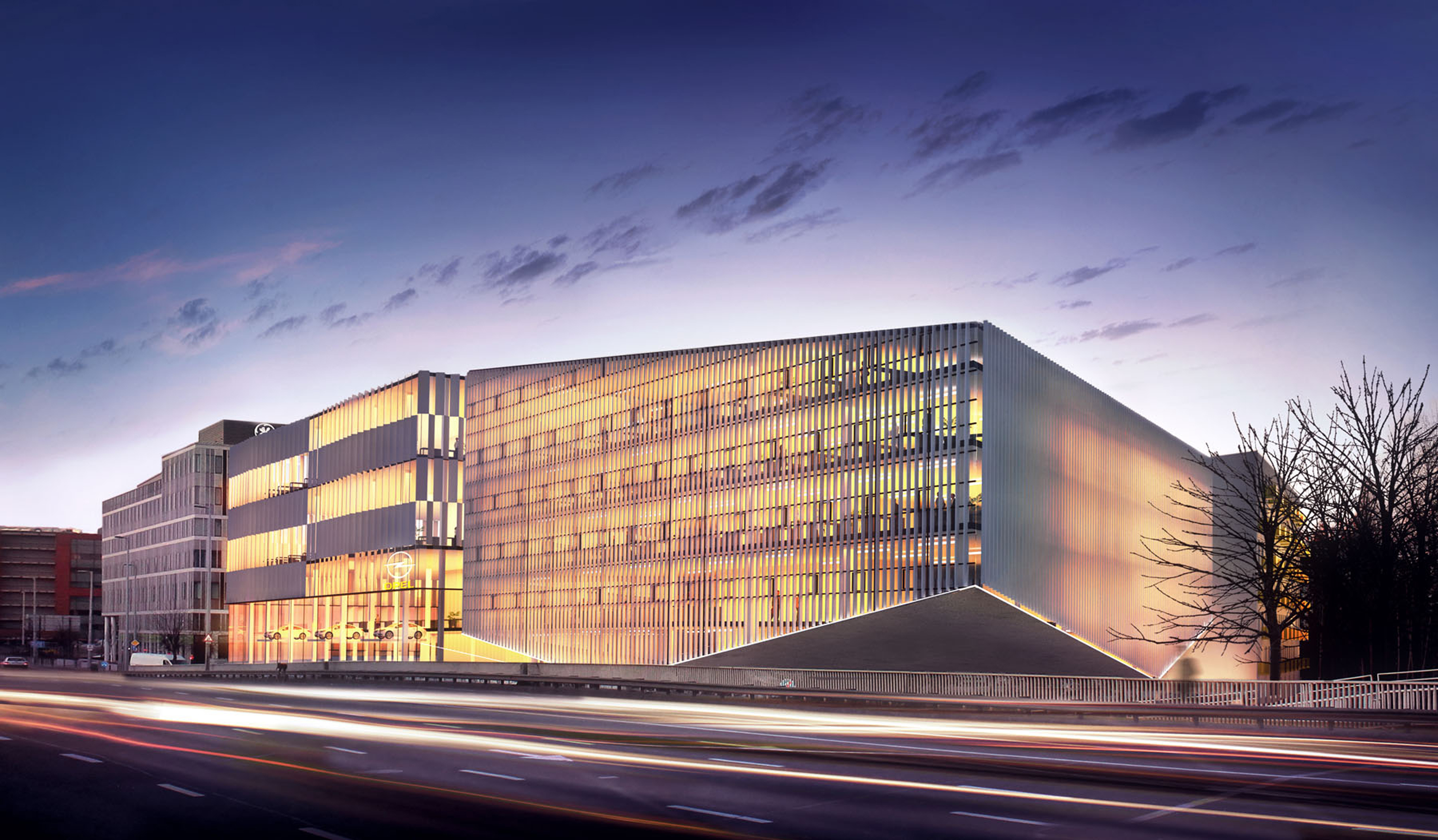 3h architecture schiller office building budapest