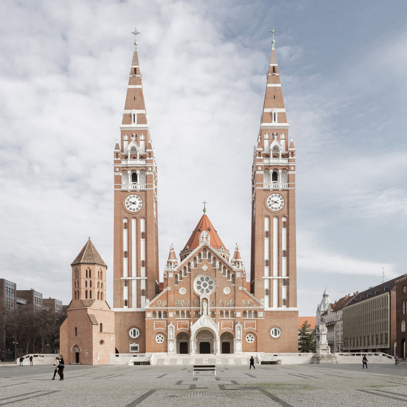 3h architecture cathedral of szeged